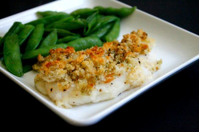Flounder Fish Recipes Baked Bread Crumbs